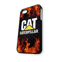 caterpillar and fire iPhone 4/4S Case