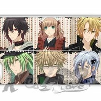Amnesia anime X&TLOVE DIY Snap-on Hard Plastic Back Case Cover Skin for Apple iPhone 4 4G 4S - 4223