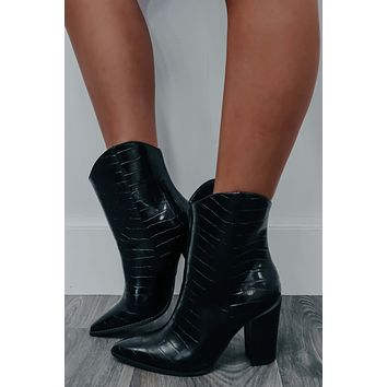 Party Ready Booties: Black