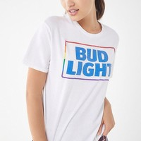 Junk Food Rainbow Bud Light Tee | Urban Outfitters