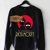 The Adventures Rick And Morty Sweatshirt Men And Women Unisex Size