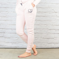 Pale Pink Jogger