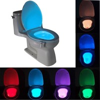 Smart Bathroom Toilet LED Nightlight