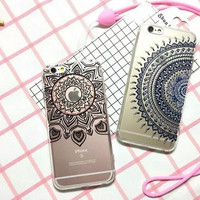 Transparent Lace Iphone 6 6S Plus Case