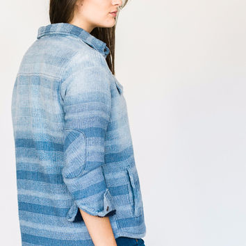 Button-up Flannel Jacket