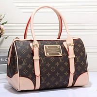 LV Louis Vuitton Women Shopping Bag Leather Tote Handbag Shoulder Bag