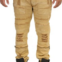 Wheat Destroyed Jeans