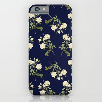 Floral Pattern I iPhone & iPod Case by SagaciousDesign