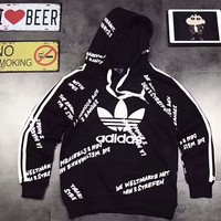 Adidas  Couple Hoodies Coat H-A-GHSY-1