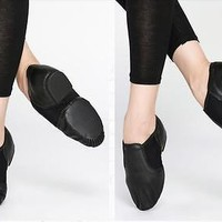 New LEATHER JAZZ DANCE SHOE