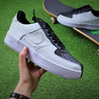 Nike Air Force 1 Low Split Black White Sport Shoes Sneaker - Best Online Sale