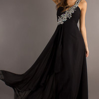 One Shoulder Prom Gown by Crush