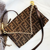 Fendi New fashion more letter chain shoulder bag crossbody bag
