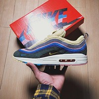 Sean Wotherspoon x Nike Air Max 97 / 1 VF SW Hybrid Retro AJ4219-400 Sport Running Shoes Sale