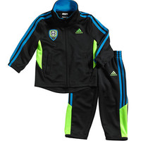 Adidas Baby Boys Soccer Zip Up Jacket and Pants Set