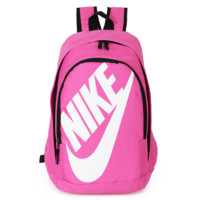 NIKE Fashion Letters Sports backpack (7 color) Rose