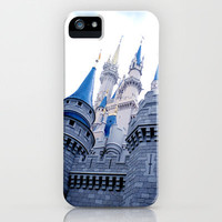 Disney Castle In Color iPhone Case by AMarloweCanPrint | Society6