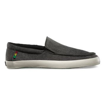 Vans Bali (Washed black/rasta)