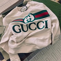 GUCCI Women Fashion Pullover Sweatshirt