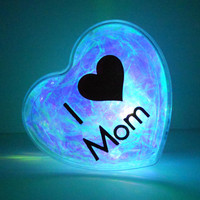 GlowHeart Mothers Day Mother's Day gift unique by ElectronicGirl