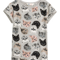H&M Jersey top with a print £5.99