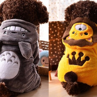 Pet Clothes Totoro Cosplay Dog Clothing Hoodie Warm Coat Puppy Cat = 1697432516