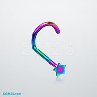 Colorline Star Nose Screw Ring