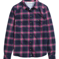 H&M - Plaid Flannel Shirt