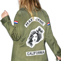 VIDAKUSH Mary Jane Gang Jacket DARK GREEN