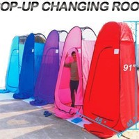 7.58' Portable Pop-Up Changing Tent Room Camping PURPLE