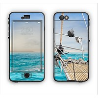 The Vibrant Ocean View From Ship Apple iPhone 6 Plus LifeProof Nuud Case Skin Set