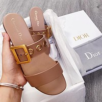 DIOR Fashion casual slippers