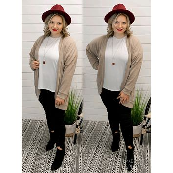 Chill In The Air Cardigan (PLUS)