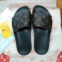 Louis Vuitton LV Women Fashion Flats Slipper Sandals Shoes