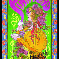 Pink Floyd Mad Hatters Tea Party Concert Poster