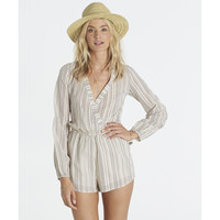 Billabong Women's Coastal Break Romper | Black/White