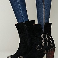 Jeffrey Campbell + Free People Womens Anslie Ankle Boot - Taupe, 8