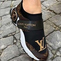 Louis Vuitton LV shoes Hot all-match casual shoes Men's and women's fashion sneakers