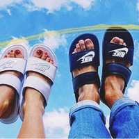 NIKE BENASSI Duo Ultra Woman Men Fashion Casual Multicolor Sandals Slipper Shoes