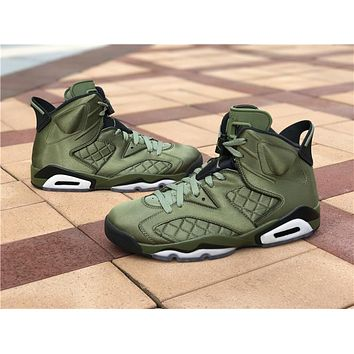 "Air Jordan 6 Retro ""Gatorade"" Nylon"