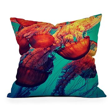Krista Glavich Jellyfish 7 Throw Pillow