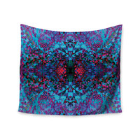 "Nikposium ""Boysenberry"" Blue Purple Wall Tapestry"