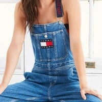 Tommy Jeans x Urban Outfitters Women Trending Fashion Romper Jumpsuit Pants I