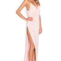 Gemeli Power The Kotahi Gown in Blush