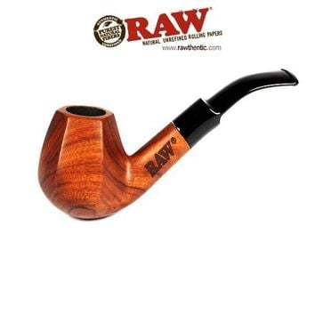 Raw Wooden Pipe