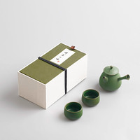 Japanese Style Ceramic Kung Fu Tea Set Portable Clay Teapot Tea Strainer of Two Cups Chinese Teaset Tea Accessories