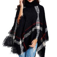 Women's Plus Size Poncho