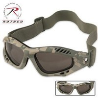 10378 Army Digital Camo Ventec Tactical Goggle