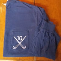 Long Sleeve Field Hockey Pocket Tee With Number
