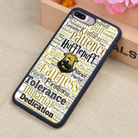 Hufflepuff Hogwarts Harry Potter Printed Soft Rubber Mobile Phone Cases For iPhone 6 6S Plus 7 7 Plus 5 5S 5C SE 4 4S Cover
